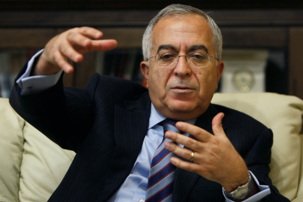 Dr. Salam Fayyad, Western-educated economist and former Palestinian PM.