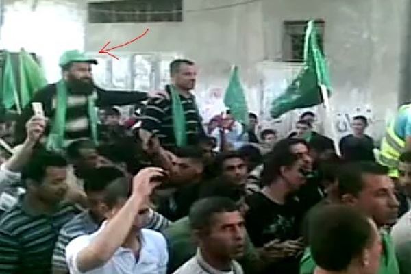 Ziad Awad receives a hero's welcome after his release in the Gilad Shalit prisoner exchange in 2011