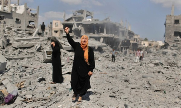Beit Hanoun, Gaza. A Reuters photo taken by a Palestinian staffer.
