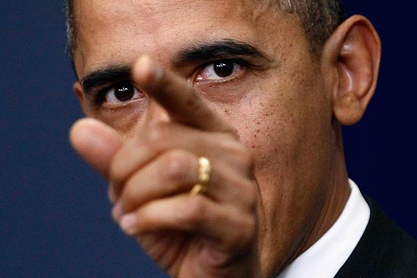Obama enraged