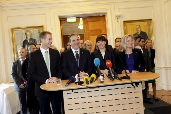 New Swedish Prime Minister Stefan Lofven makes inaugural address calling for recognition of 'Palestine'