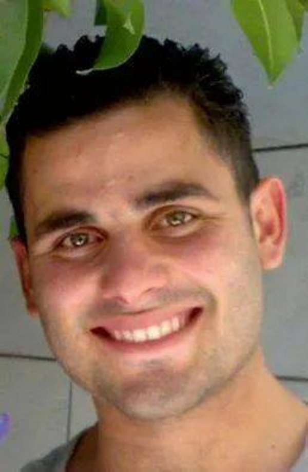 Want to see what someone who would murder a young woman by stabbing her in the neck looks like? This is Maher Hamdi Hashalamun. He attempted to run over three Israelis waiting at a bus stop in Gush Etzion. When that failed, he jumped out of his car and attacked them with a knife, killing a 25-year old woman. The terrorist was shot by a security guard, but unfortunately is still alive. He was previously in prison for throwing firebombs, but was released in one of the 'prisoner exchanges'.