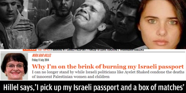 One of the milder examples of the propaganda attacking Ayelet Shaked.