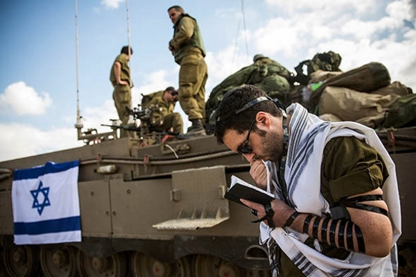 Near Israel/Gaza border, July 18, 2014