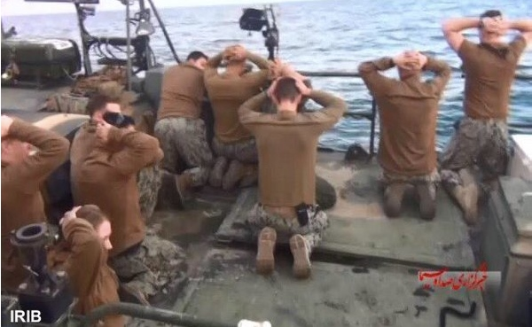 American sailors in Iranian captivity